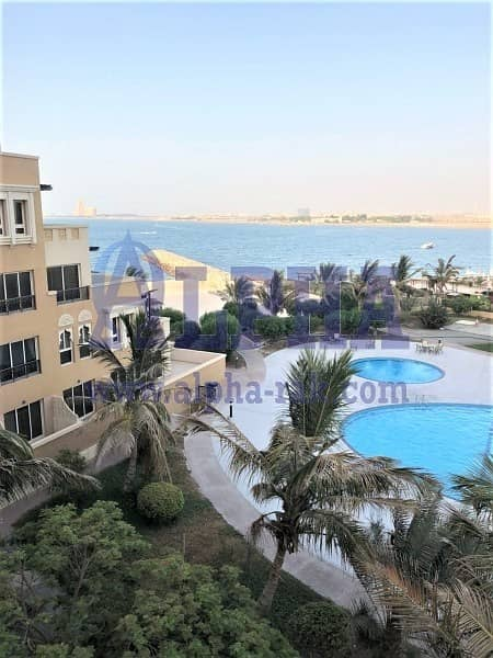 2 Mesmerizing Garden & Sea View | 1 Bedroom Unit | Unfurnished