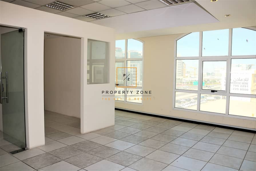 Fitted Office Space in  Al Garhoud and Ready to Move In