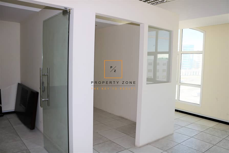 2 Fitted Office Space in  Al Garhoud and Ready to Move In
