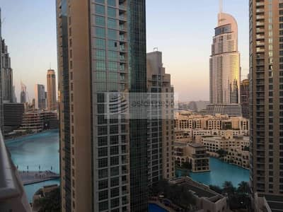1 Bedroom Flat for Sale in Downtown Dubai, Dubai - Spacious 1Br+Study | Blvd/Community View