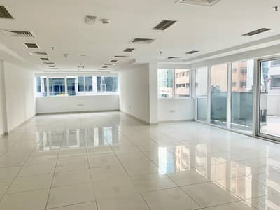 Office for Rent in Al Barsha, Dubai - Direct from Landlord, No Commission! Chiller Free Fitted Office With Balcony in Yes Business Centre