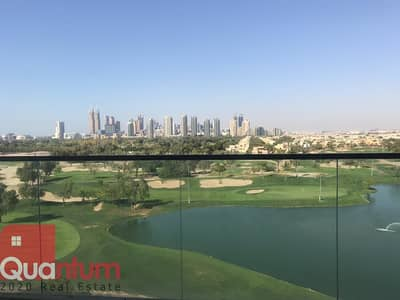 FULL GOLF COURSE VEW AND EMIRATES HILLS VIEW