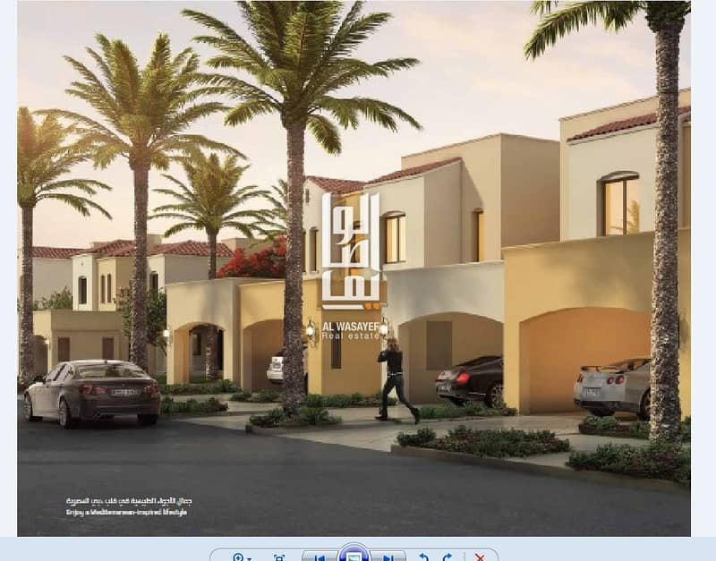 Own a luxury villa with a deposit 75000 aed