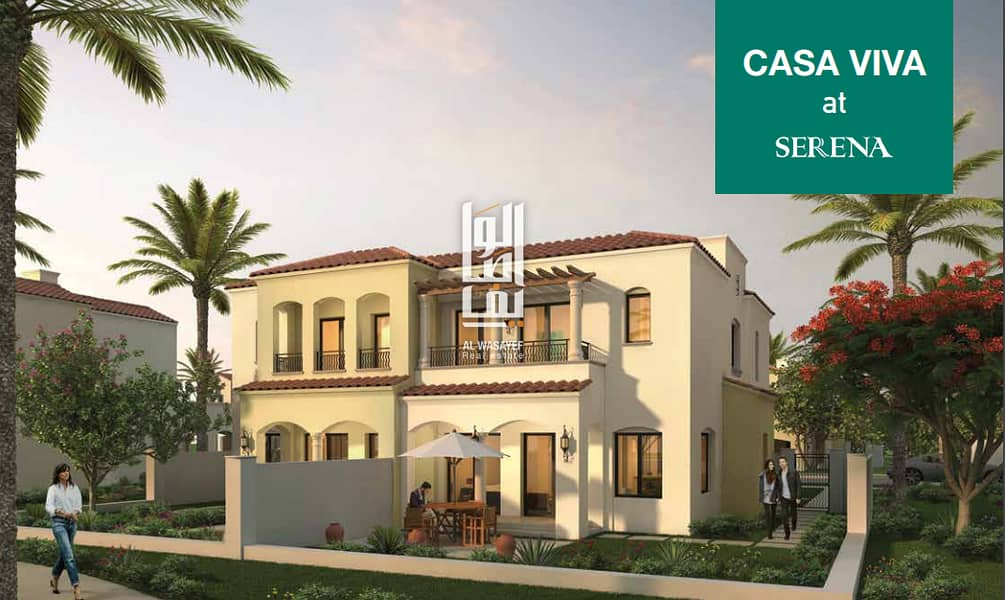 2 Own a luxury villa with a deposit 75000 aed