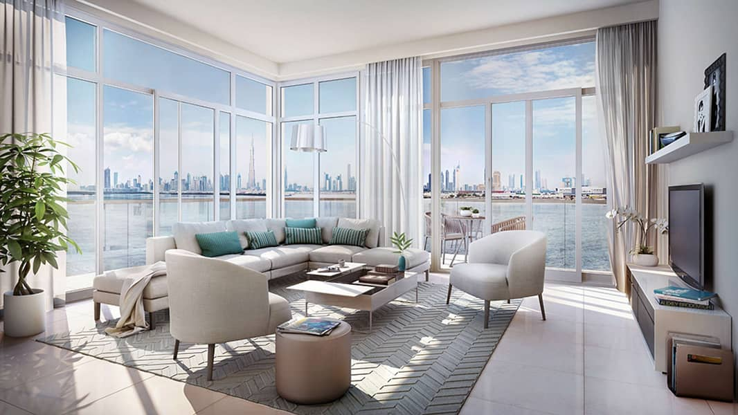 2 Gracious Four-Bedroom Apartment in The Cove Dubai Creek