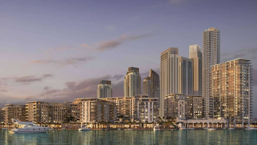 10 Gracious Four-Bedroom Apartment in The Cove Dubai Creek