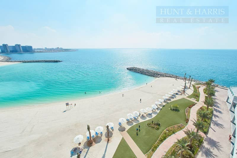 Beach & Sea Facing 2 Bedroom Gulf Suite - Al Marjan Island