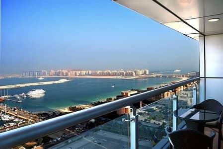 شقة 2 غرفة نوم للايجار في دبي مارينا، دبي - Partial Sea View | Fully Furnished | Rent AED 105K