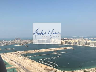 3 Bedroom Flat for Rent in Dubai Marina, Dubai - Cheapest 3BR Unit |  Palm/Sea View | High Floor