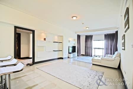 شقة 2 غرفة نوم للبيع في نخلة جميرا، دبي - Vacant C Type | Park And Partial Sea View