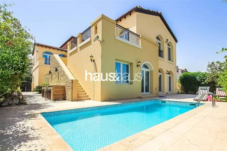 4 Bedroom Villa for Rent in Jumeirah Golf Estate, Dubai - Furnished | Great views | Quiet location