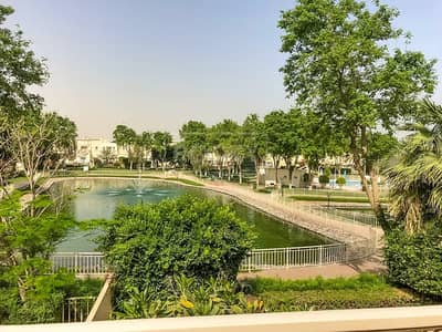3 Bedroom Villa for Rent in The Springs, Dubai - Full Lake View | Type 1E Villa | plus Study Room | Springs 4