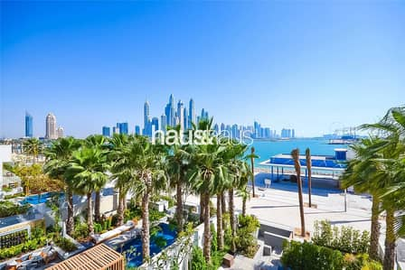 فلیٹ 4 غرفة نوم للبيع في نخلة جميرا، دبي - Private Pool | Sea and Skyline Views | Best Price