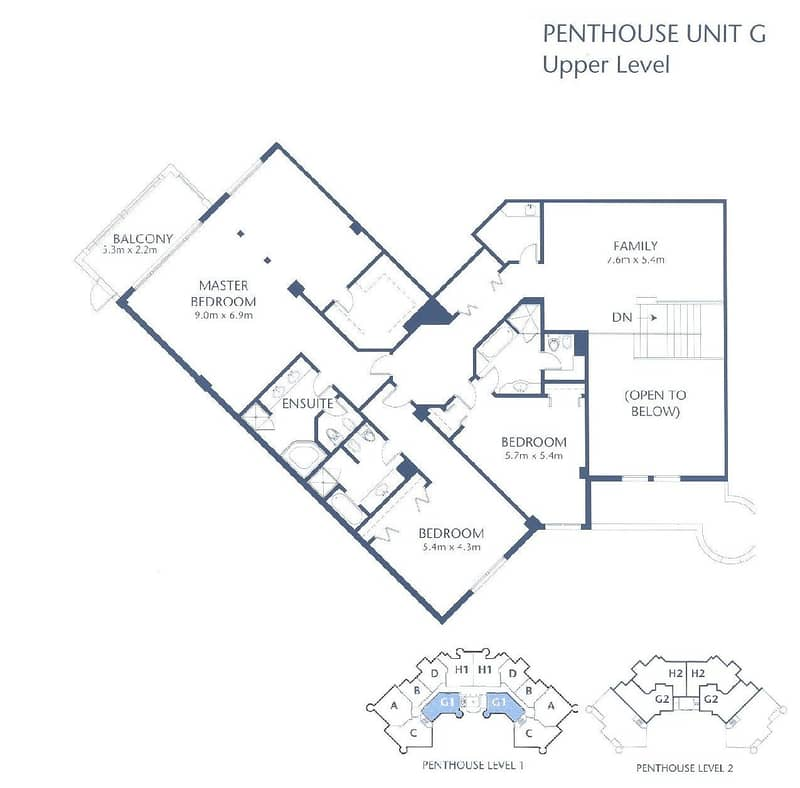 10 Duplex | Penthouse | Upgraded | Sea View