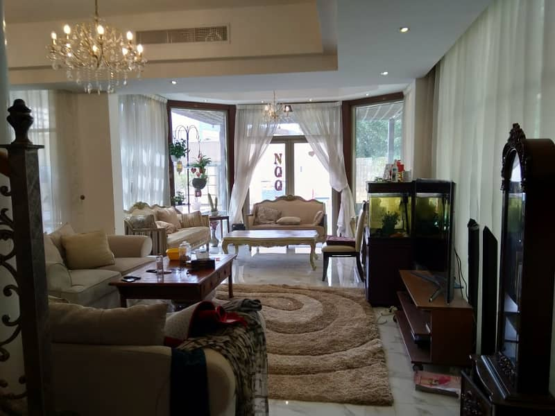 Luxury fully furnished villa for rent in Rawdha 2 Ajman UAE
