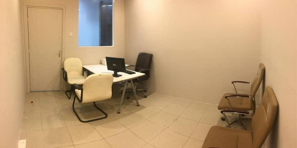 مكاتب للايجار 12 الف درهم سنويا  اسعار مميزة لفترة محدودة.