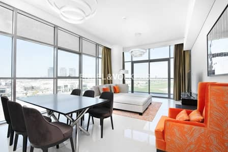 2 Bedroom Apartment for Sale in DAMAC Hills (Akoya by DAMAC), Dubai - Motivated Seller|Fully Furnished|Golf View