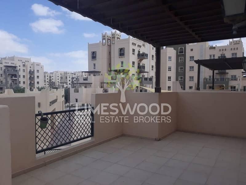 Semi Close Kitchen and Terrace  Al Ramth