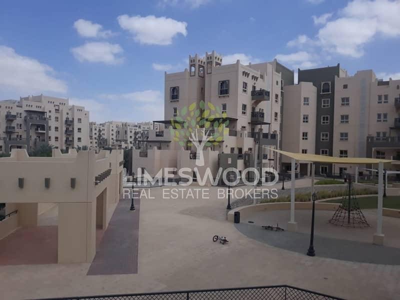 2 Semi Close Kitchen and Terrace  Al Ramth