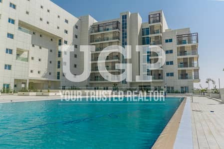 1 Bedroom Apartment for Sale in Masdar City, Abu Dhabi - Fully Furnished 1BR w/ Parking and Balcony