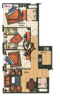 9 Attractive location| 3 BR apartment  |JLT