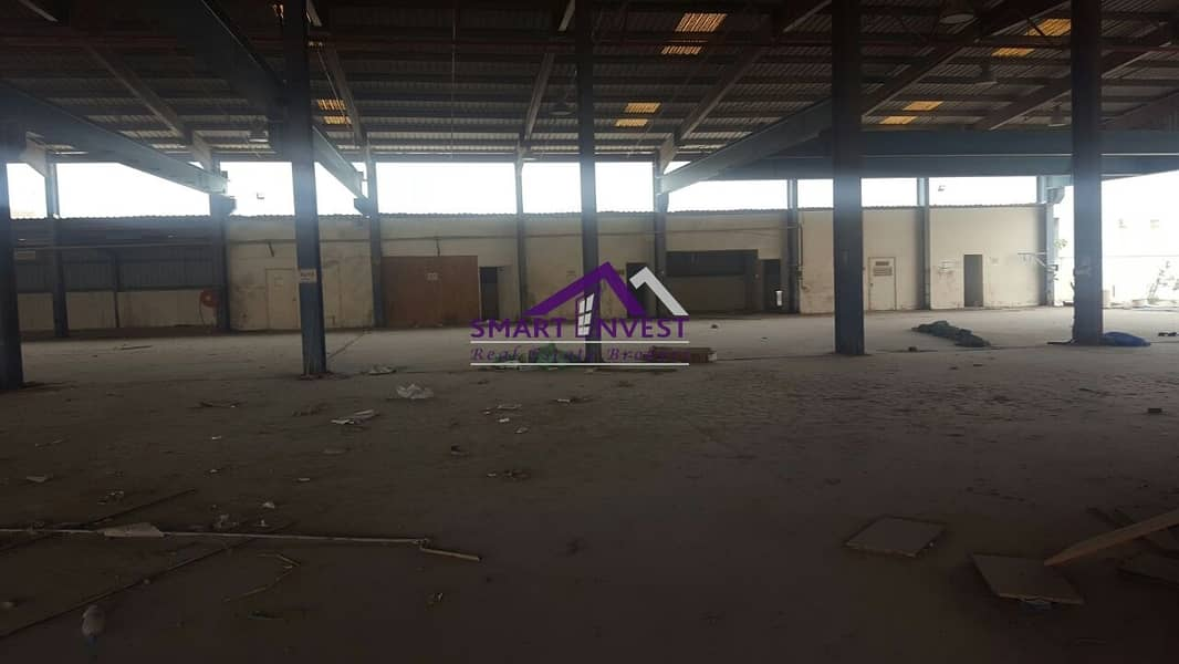 4 Open Yard Warehouse  & Plot for sale in Sharjah for AED 19M