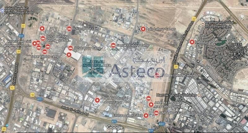 11 Staff  Accommodation  Jebel Ali brand  new for sale