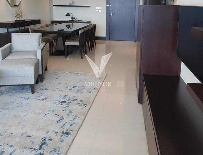 2 Partial Burj Khalifa and Furnished 2 Bed