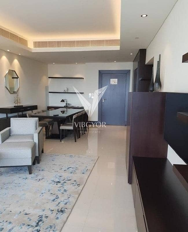 10 Partial Burj Khalifa and Furnished 2 Bed