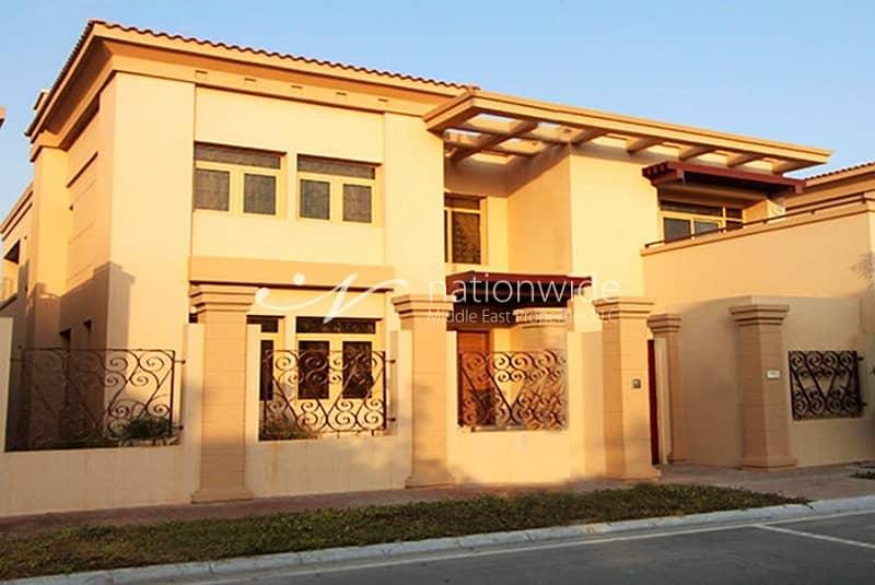 Sensational 5 BR Villa in Al Raha Golf Gardens