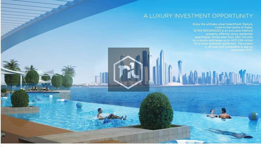 2 Guaranteed 10 ROI for 5 years | Palm Jumeirah