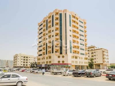 فلیٹ 1 غرفة نوم للايجار في الجرف، عجمان - شقة للايجار مكونه من غرفه وصاله وحمامين