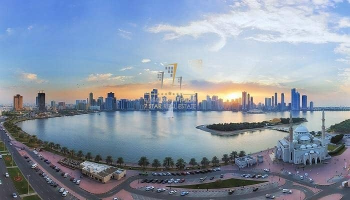 2 For Sale Apartment in the best areas of Sharjah Al Majaz area