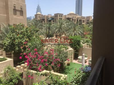 1 Bedroom Flat for Rent in Old Town, Dubai - Furnished 1 BR in Reehan with Beautiful Greenery View