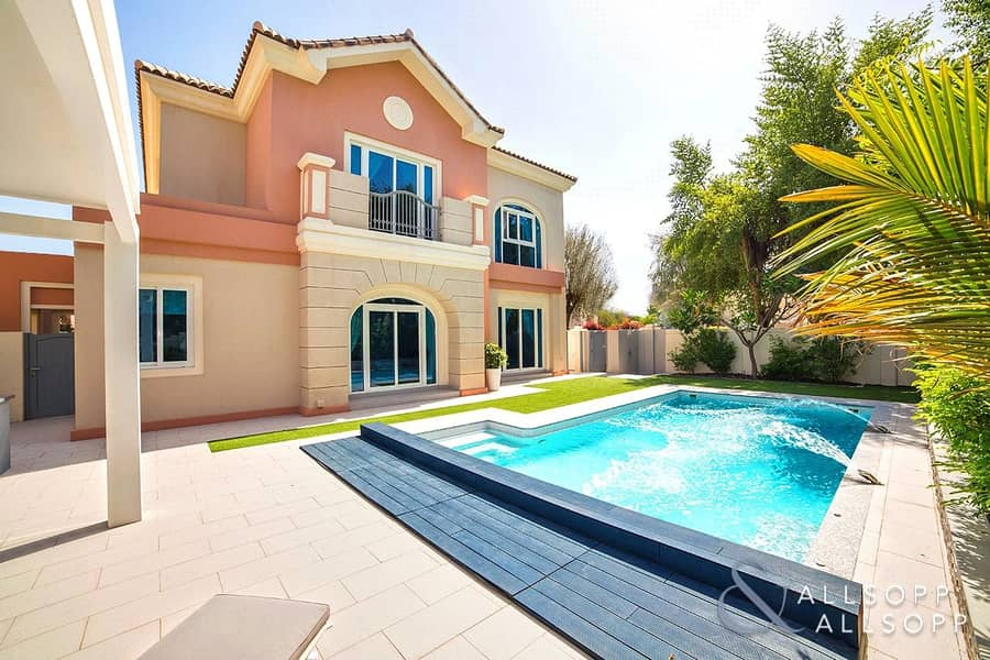 Highly Upgraded | Unique C1 Villa | Pool