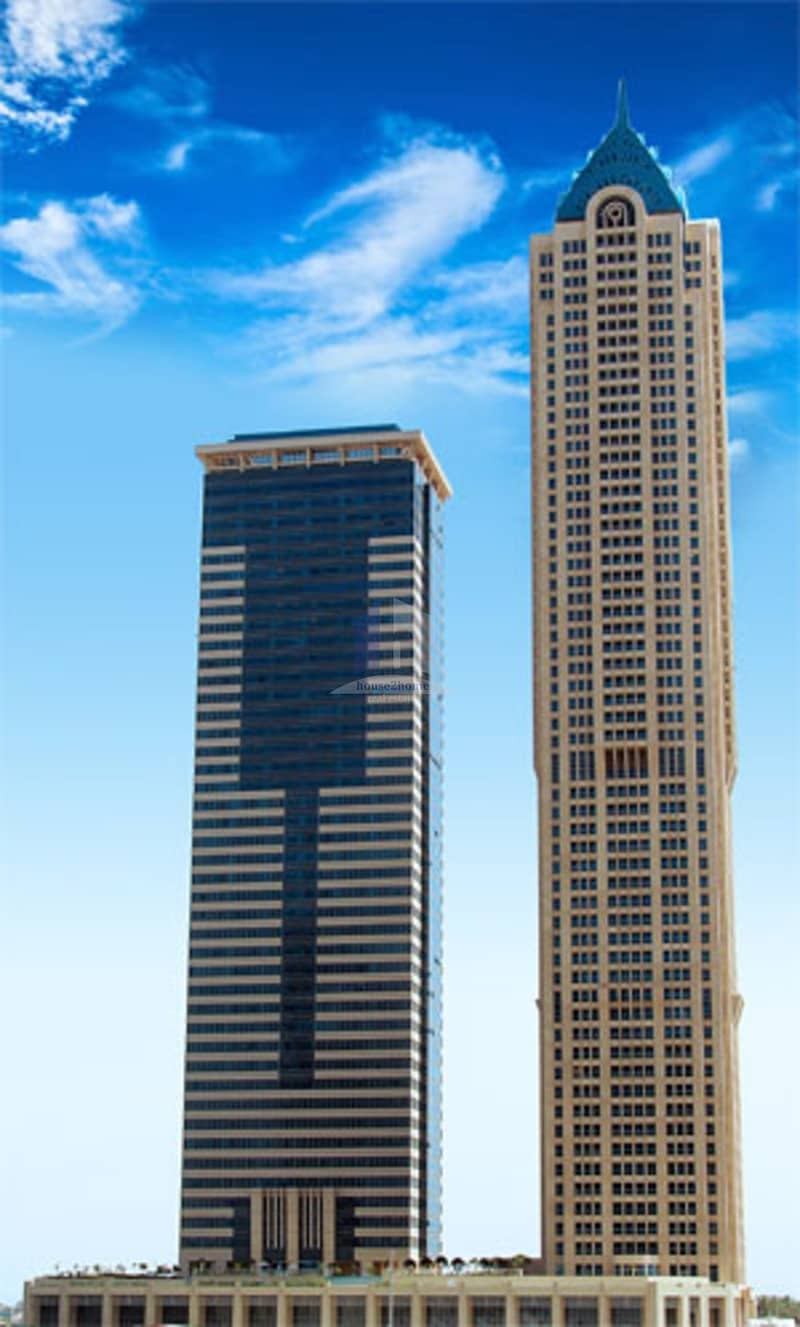 9 Best in Price so far fro a 2Br + Maids in Churchill Tower Business Bay