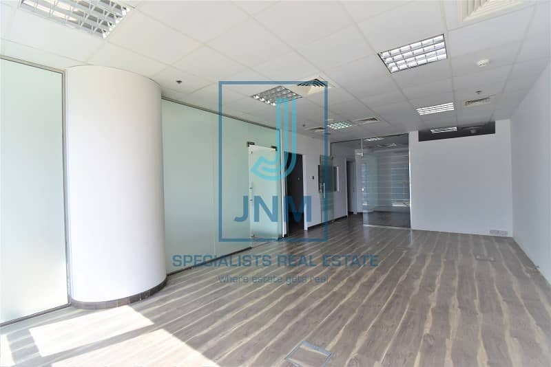 2 Elegant fitted office with glass partitions