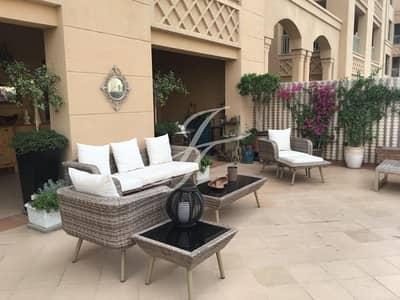 شقة 3 غرفة نوم للبيع في نخلة جميرا، دبي - Extended Terrace Apt | Vacant on Transfer