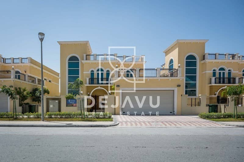 16 Semi Furnished Single Row 4 B/D Legacy Nova Villa For Rent