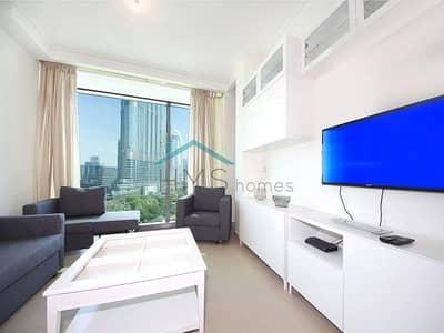 1 Bedroom Apartment for Sale in Downtown Dubai, Dubai - 1 Bed | Full Burj Khalifa View | Burj Vista 2