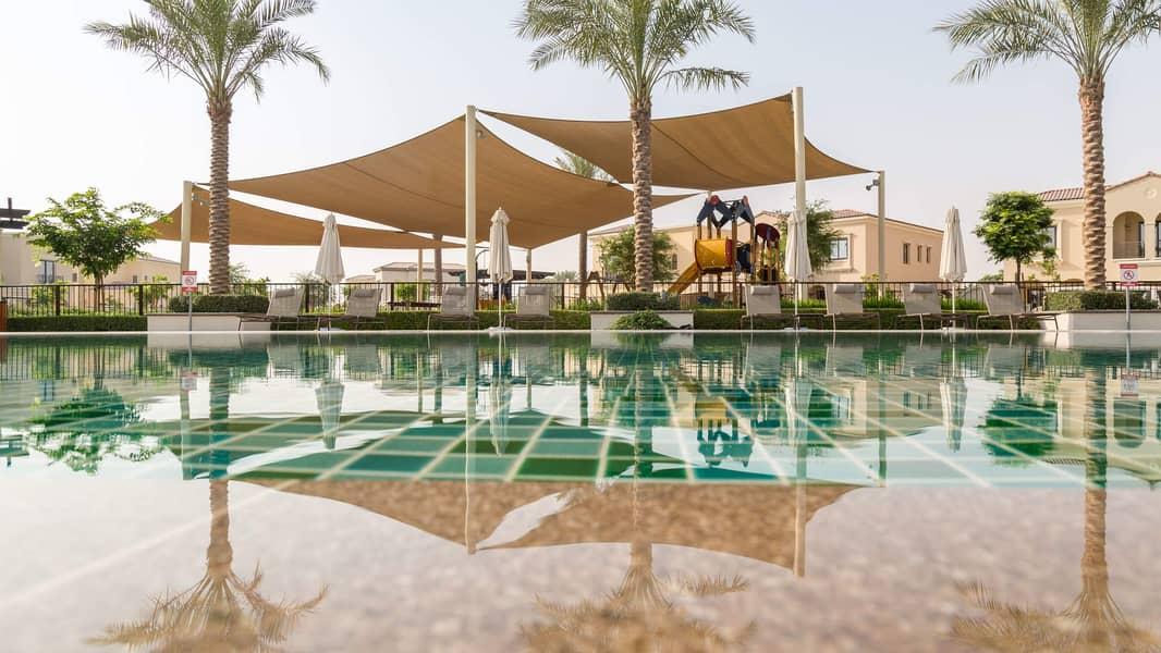 13 Excellent Four-Bedroom Villa at Al Reem Arabian Ranches