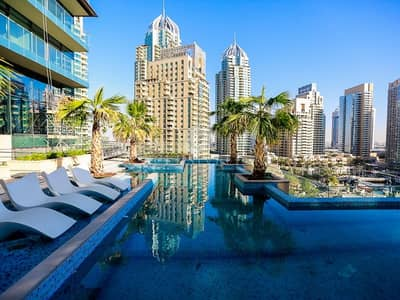 1 Bedroom Flat For Rent In Dubai Marina Nice Views From Large