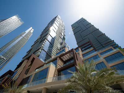 فلیٹ 1 غرفة نوم للايجار في دبي مارينا، دبي - High floor - panoramic Marina view 1 bed