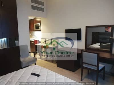 استوديو  للايجار في آل نهيان، أبوظبي - Amazing Fully Furnished and Huge Studio Included Water and Electricity in Mamora 5000/month
