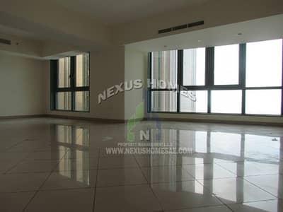 شقة 2 غرفة نوم للايجار في منطقة الكورنيش، أبوظبي - Grand Spacious  Sea View 2 BR Apt In Abu Dhabi ..!