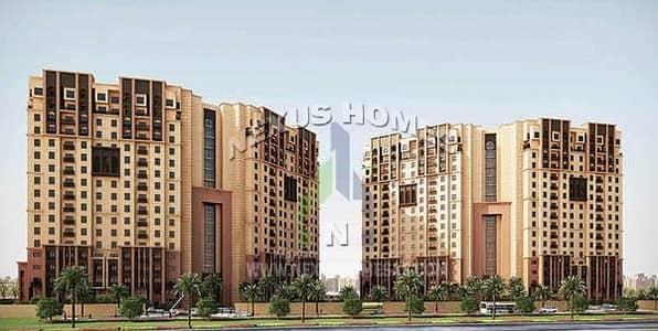 فلیٹ 2 غرفة نوم للايجار في مصفح، أبوظبي - Brand New 1BR+Pool & Gym in Musaffah Garden