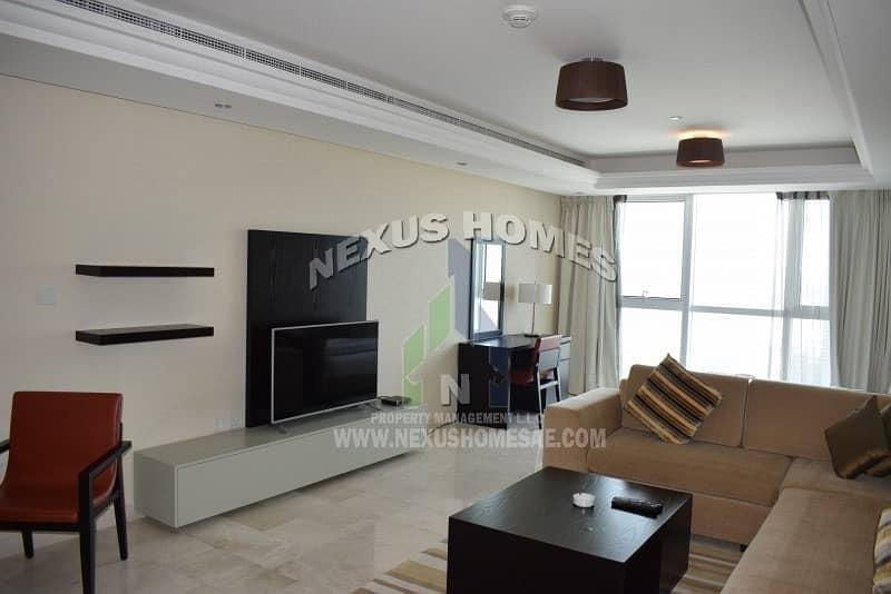 2 Luxurious Studio Apartment for Rent - Corinche AUH