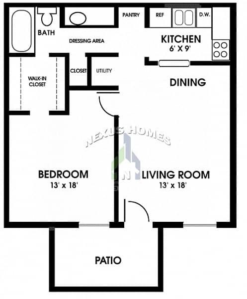 19 Luxurious Studio Apartment for Rent - Corinche AUH