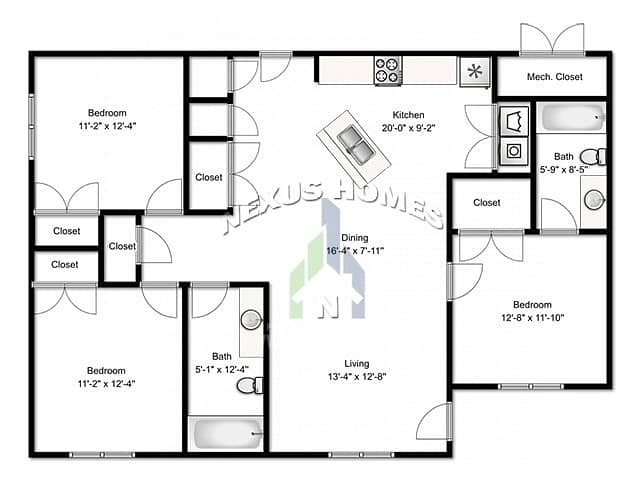 41 Spacious Two Bedroom Apartment is Fully Furnished!