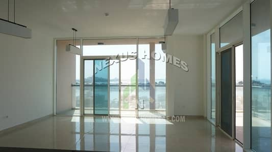3 Bedroom Apartment for Rent in The Marina, Abu Dhabi - Spacious 3 BR Apt + Balcony with Sea View in AUH.!